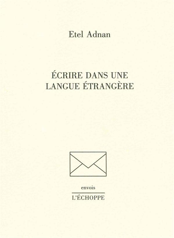 Ecrire dans une langue etrangere