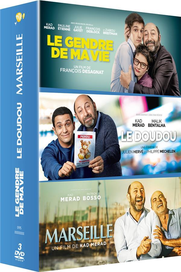 Kad Merad : Le Doudou + Le Gendre de ma vie + Marseille