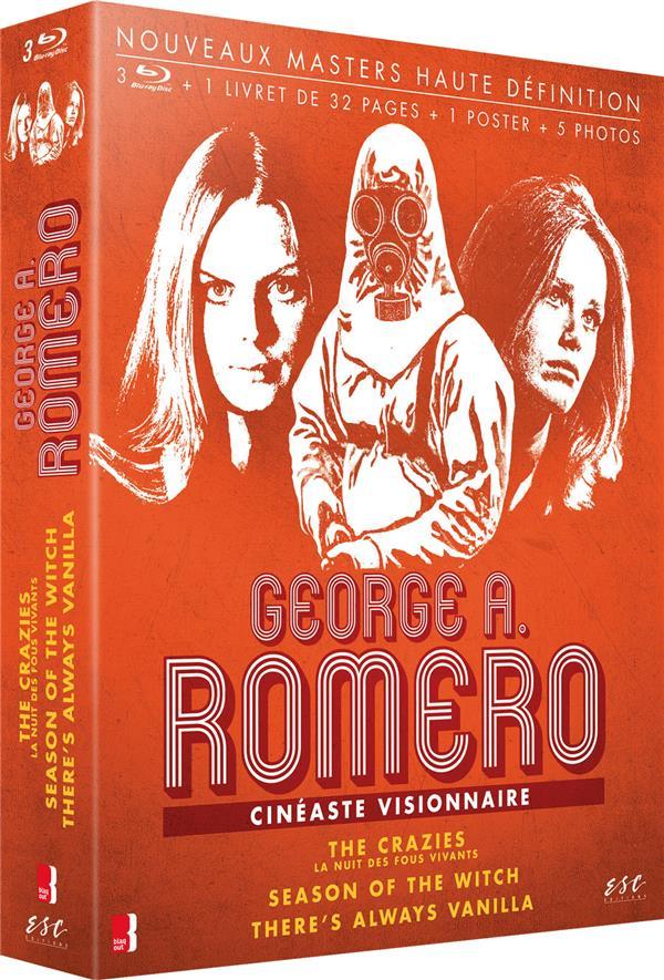 George A. Romero - Cinéaste visionnaire : The Crazies (La Nuit des fous vivants) + Season of the Witch + There's Always Vanilla