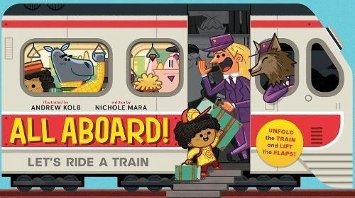 All aboard ! let's ride a train