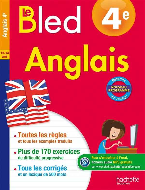CAHIERS BLED  -  ANGLAIS  -  4EME Michoux André