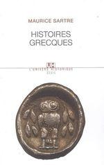 Vente EBooks : Histoires grecques  - Maurice SARTRE