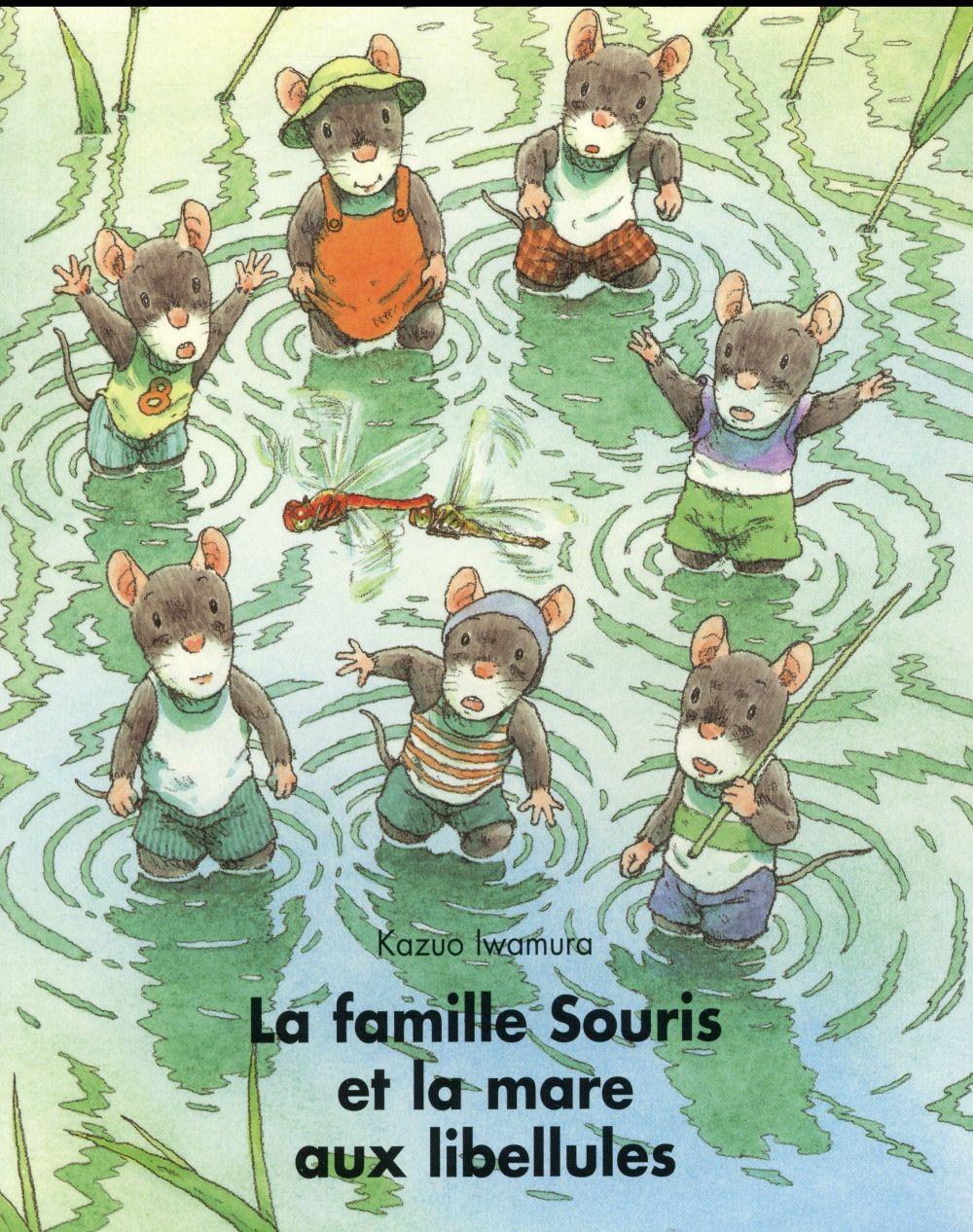 La famille Souris et la mare aux libellules