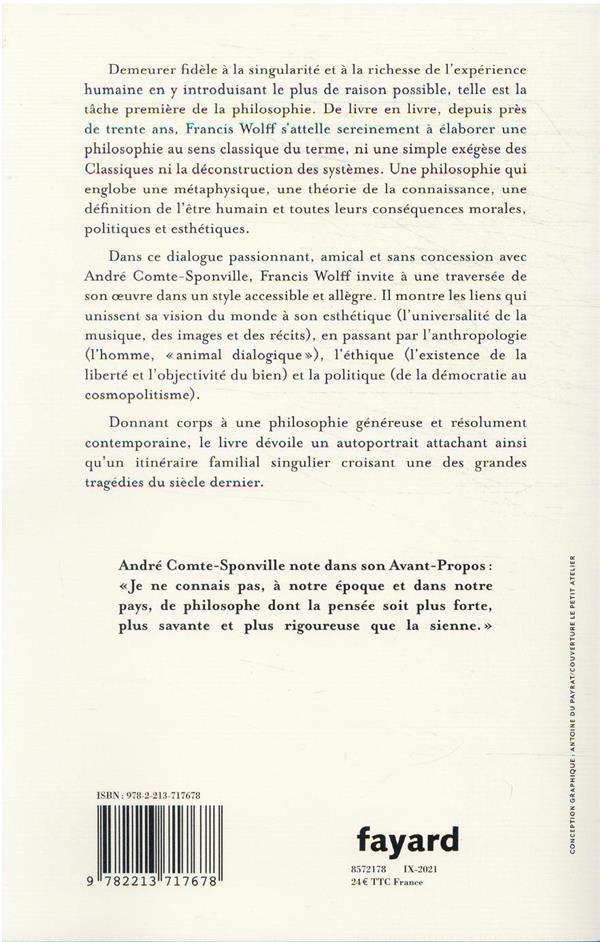 Le monde à la première personne : entretien avec André Comte-Sponville