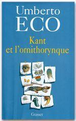 Kant et l'ornithorynque