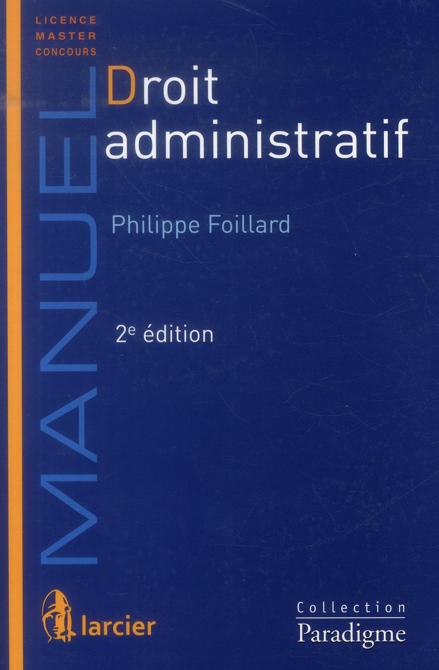 Droit administrarif (2e édition)
