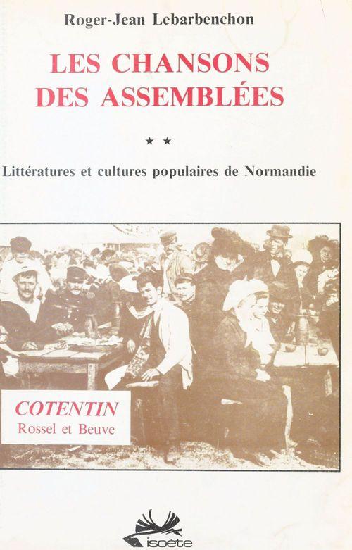 Chansons assemblees/normandi