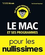 Vente Livre Numérique : Le Mac et ses programmes pour les Nullissimes  - Paul DURAND-DEGRANGES