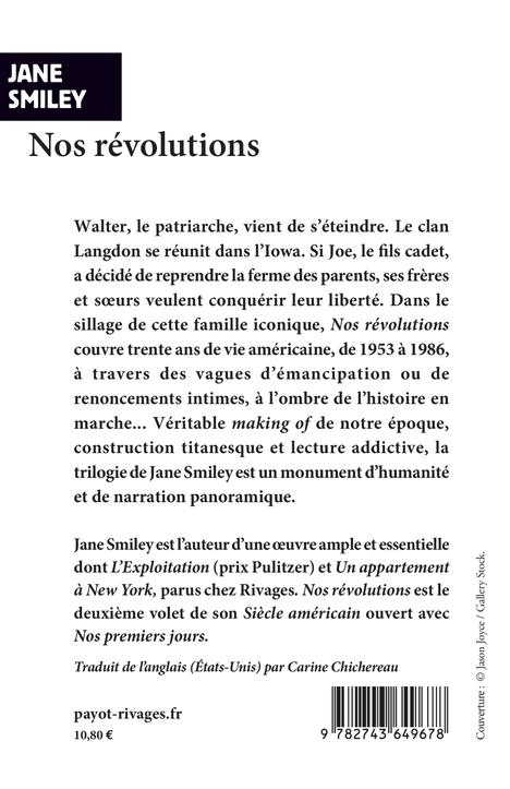 Un siècle américain t.2 ; nos révolutions