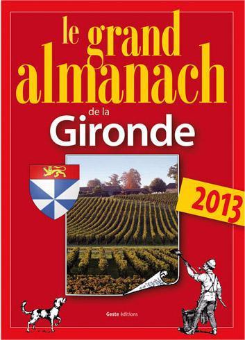 Grand almanach de la Gironde 2013