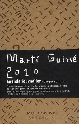 Agenda journalier Marti 2010