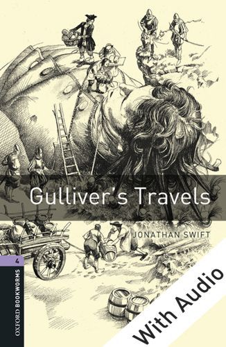 Vente EBooks : Gulliver's Travels - With Audio Level 4 Oxford Bookworms Library  - Jonathan Swift