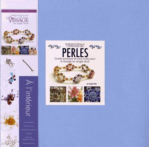 Introduction à l'enfilage des perles ; coffret