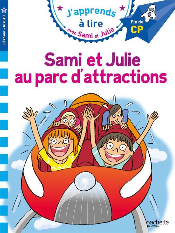 SAMI ET JULIE CP NIVEAU 3 - SAMI ET JULIE AU PARC D'ATTRACTIONS MASSONAUD, EMMANUELLE