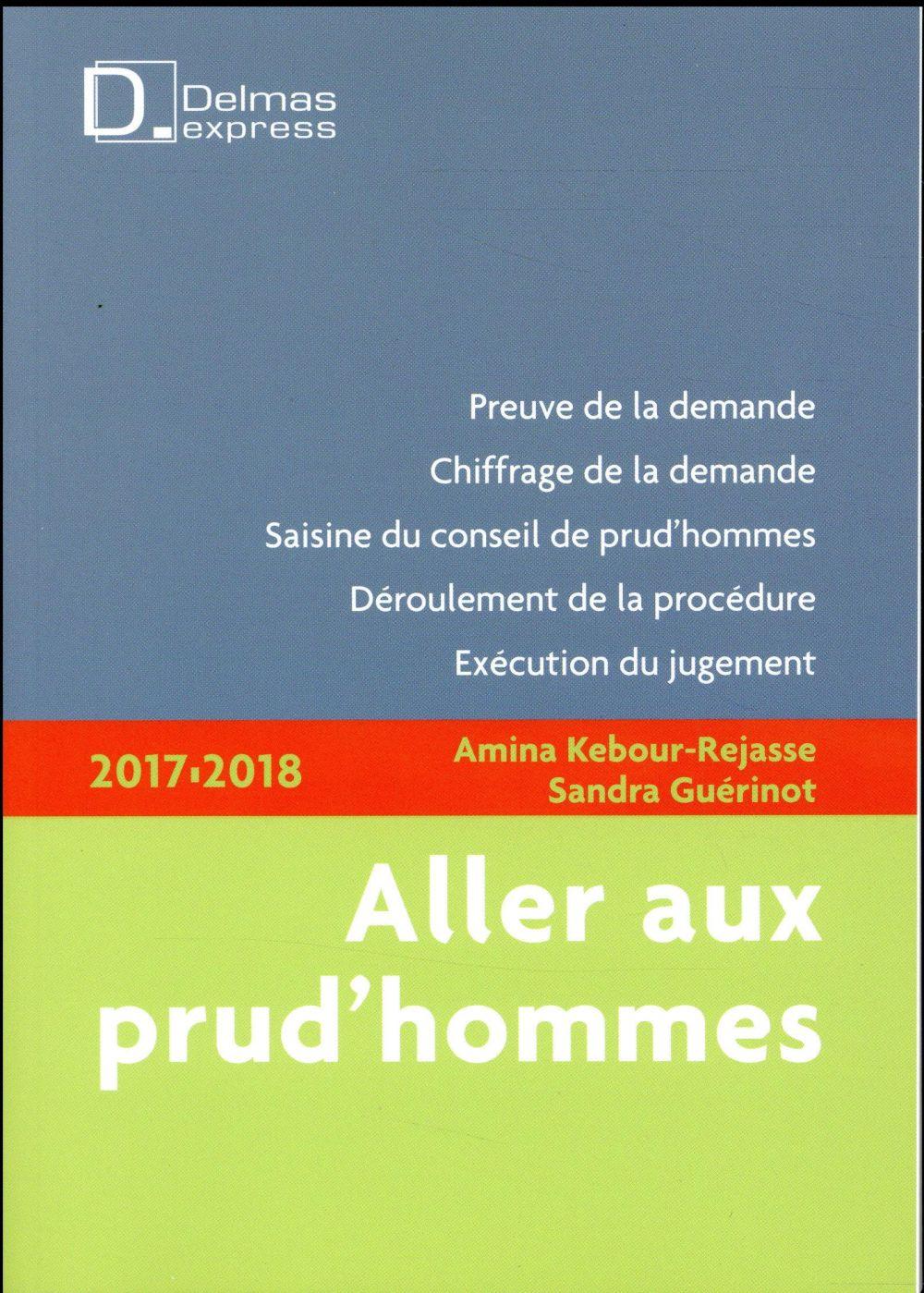 Aller aux prud'hommes (édition 2017/2018)