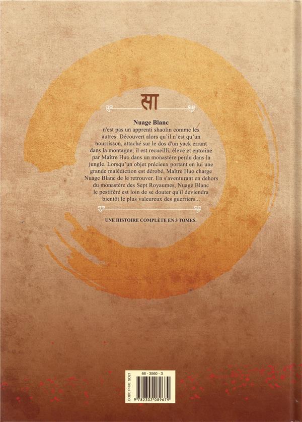 Shaolin T.1 ; l'enfant du destin