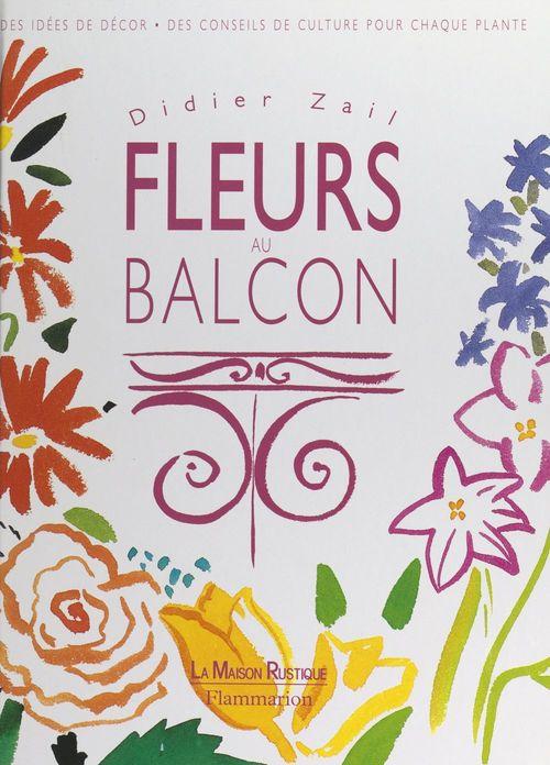 Fleurs au balcon