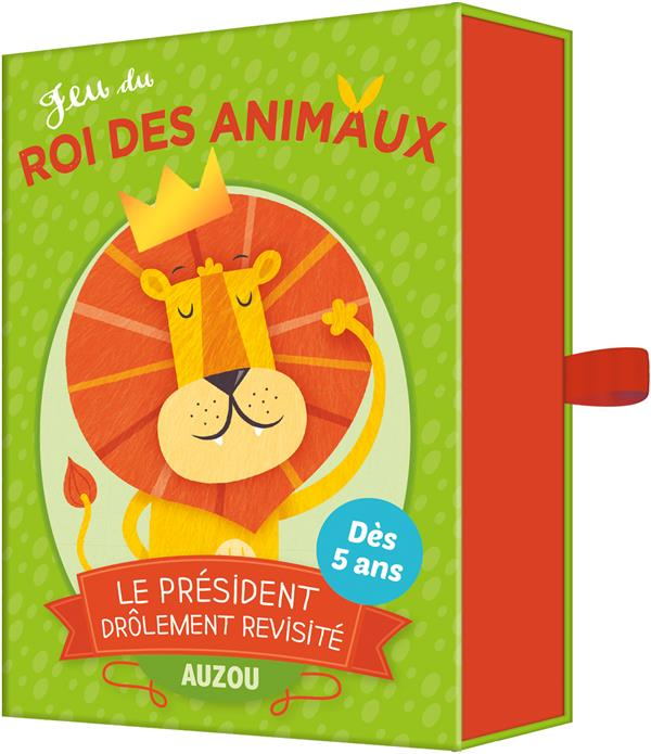 Jeu du roi des animaux ; le président drôlement revisité