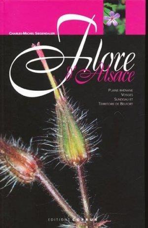 Flore d'alsace, plaine rhenane, vosges, sundgau et territoire de belfort
