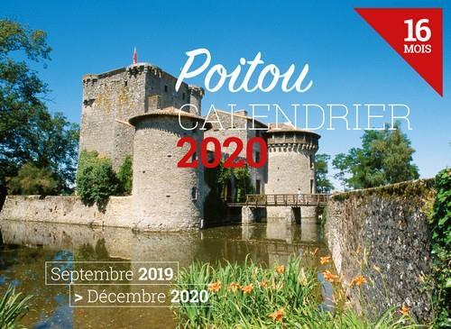 Calendrier 2020 ; Poitou