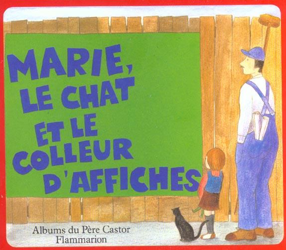 Marie, le chat et le colleur d'affiches