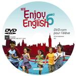 ENJOY ENGLISH IN ; 6e ; DVD rom élève de remplacement (édition 2011)