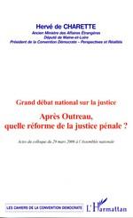 Grand débat national sur la justice  - Hervé de Charette