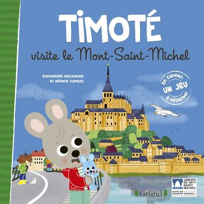 Timoté visite le Mont-Saint-Michel