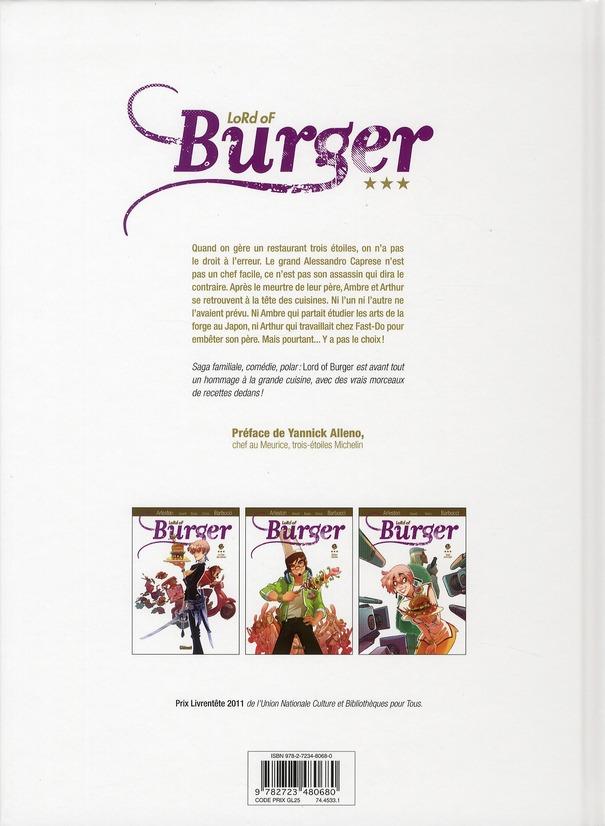 Lord of burger t.1 ; le clos des épices