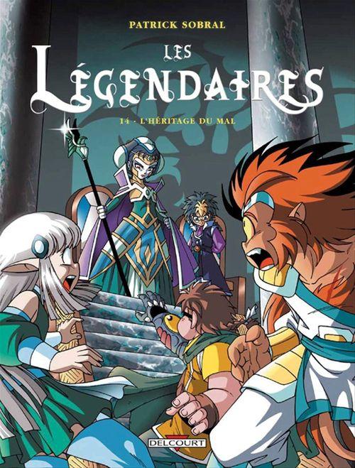 Les Légendaires t.14 ; l'héritage du mal