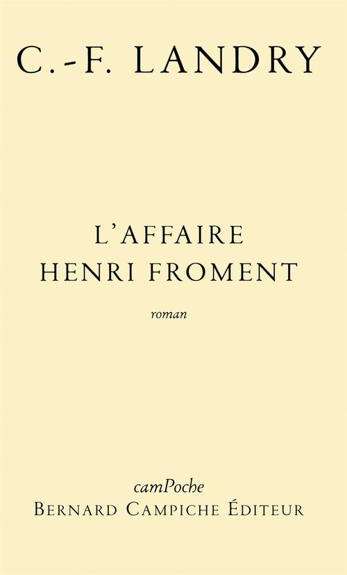 L'affaire Henri Froment