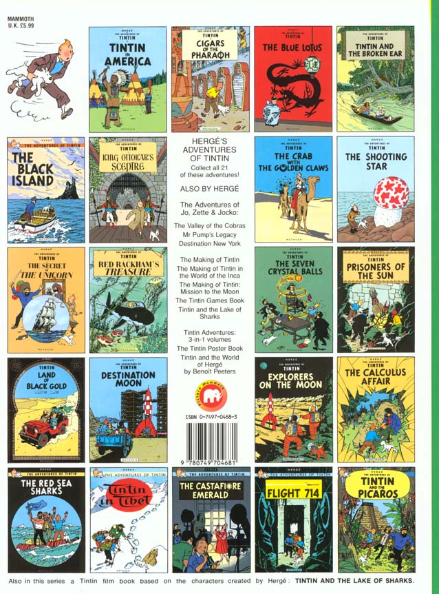 The adventures of Tintin T.18 ; the Calculus affair