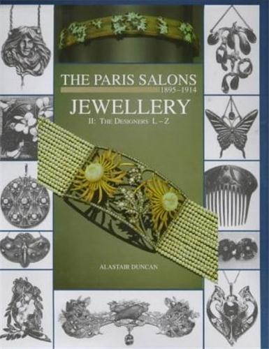 Paris salons vol 2 jewellery l-z /anglais