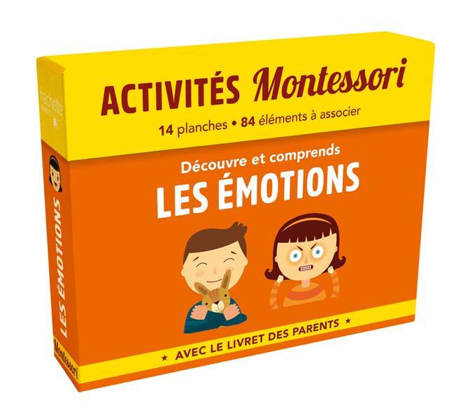 Activités Montessori ; découvre et comprends les émotions