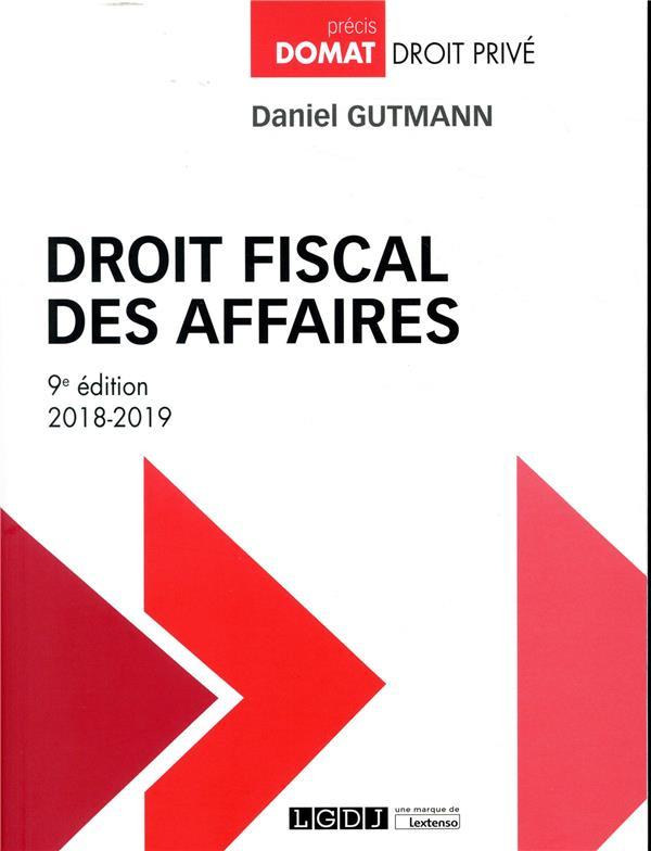 Droit fiscal des affaires (édition 2018/2019)