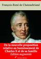 De la nouvelle proposition relative au bannissement de Charles X et de sa famille - suivi d'annexes