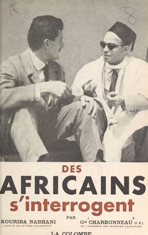 Des africains s'interrogent