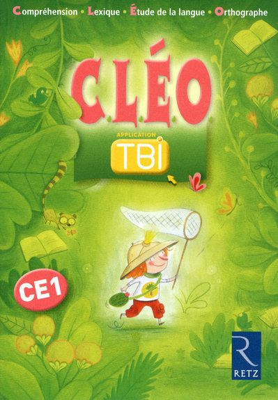 C.L.E.O.; Francais ; Ce1 ; Application Tbi (Edition 2010)