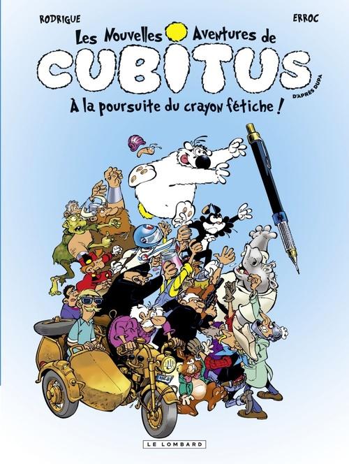 Cubitus (Nouv.Aventures) - tome 13 - A la poursuite du crayon fétiche
