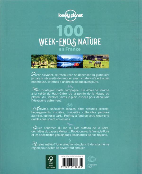 100 week-ends nature en France (édition 2021)
