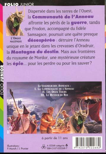 Le seigneur des anneaux t.2 ; les deux tours