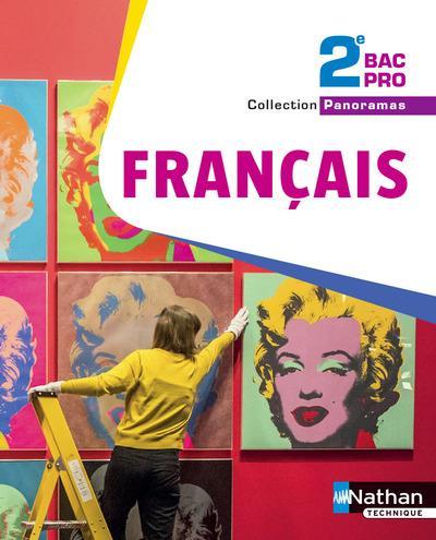 Panoramas Francais 2de Bac Pro Livre De L Eleve Edition 2017 Collectif Nathan Grand Format Doucet Le Mans