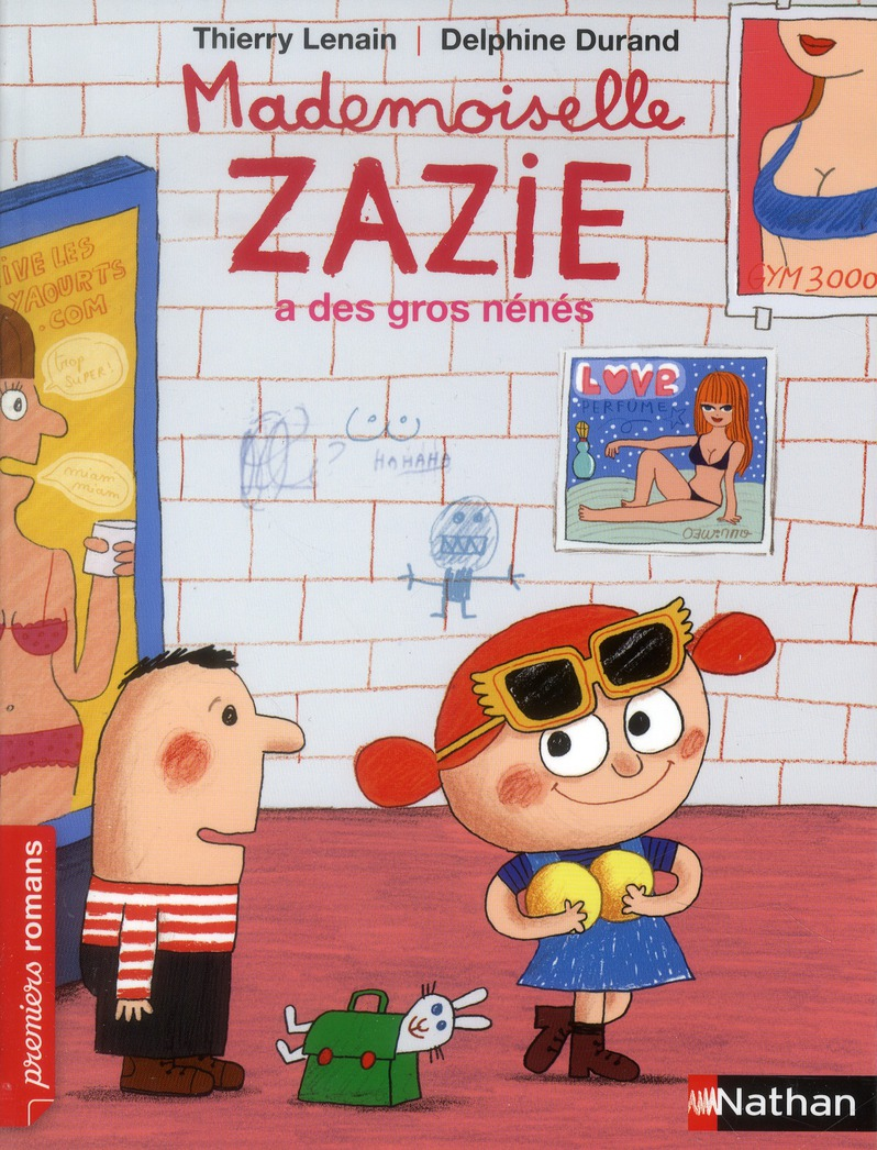 Mademoiselle Zazie a de gros nénés