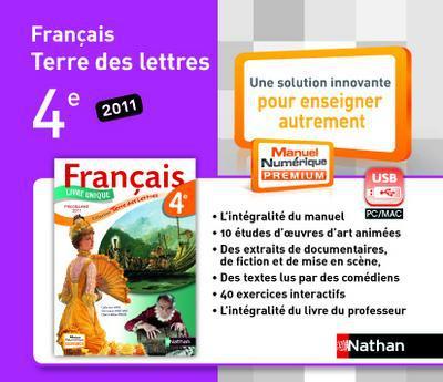 Terre Des Lettres 4eme Cle Usb J C Boilevin Nathan