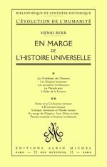 En marge de l'histoire universelle  - Henri Berr