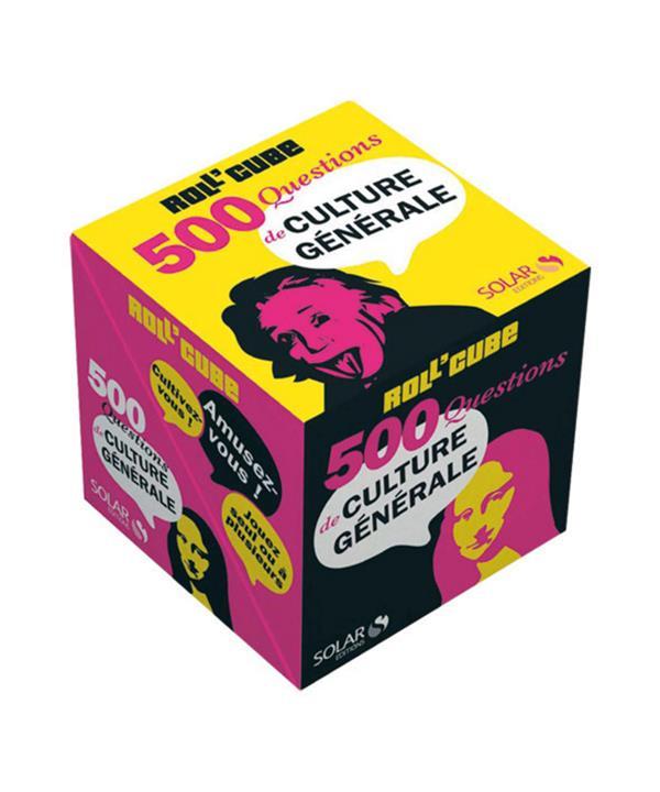 Roll'Cube; 500 Questions De Culture Generale