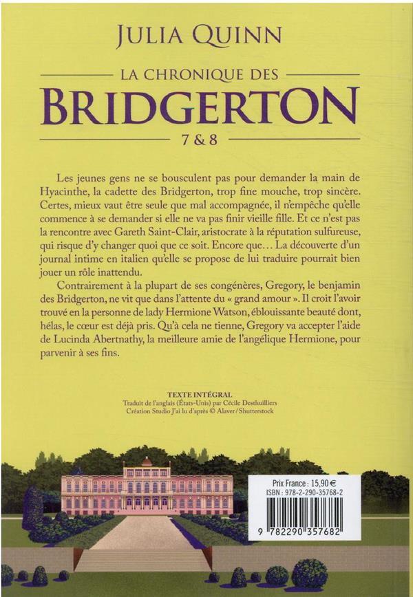 La chronique des Bridgerton T.7
