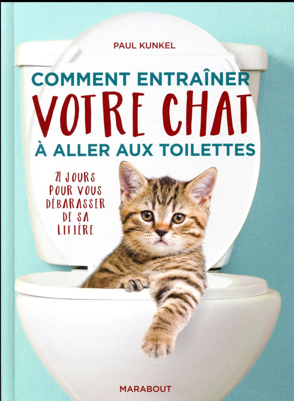 Comment habituer son chat à aller aux toilettes