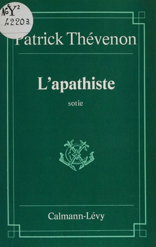 L'Apathiste