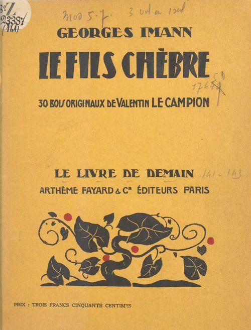 Le fils Chèbre  - Georges Imann
